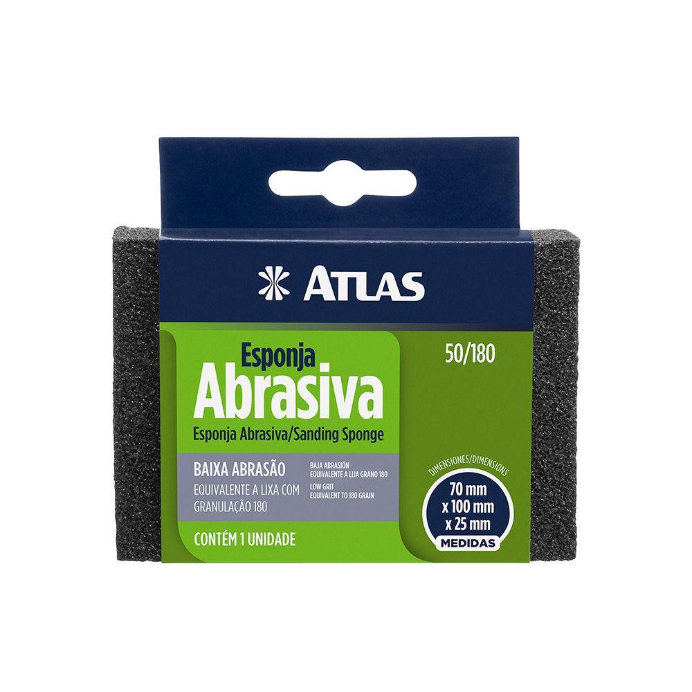 Esponja Abrasiva Rígida Baixa Atlas 50/180.