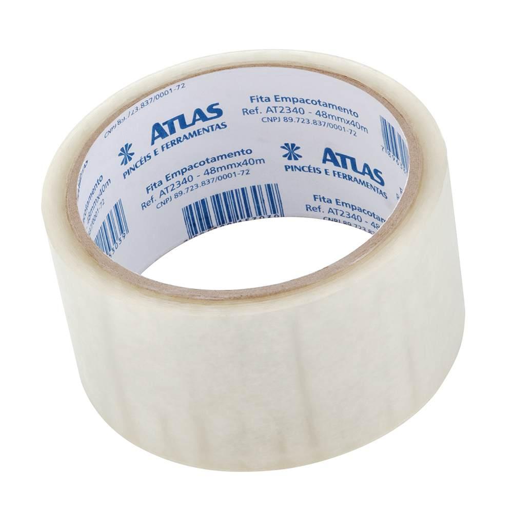 Fita Plástica P/ Empacotamento 4,8 Cm X 40 Metros Atlas AT2340.