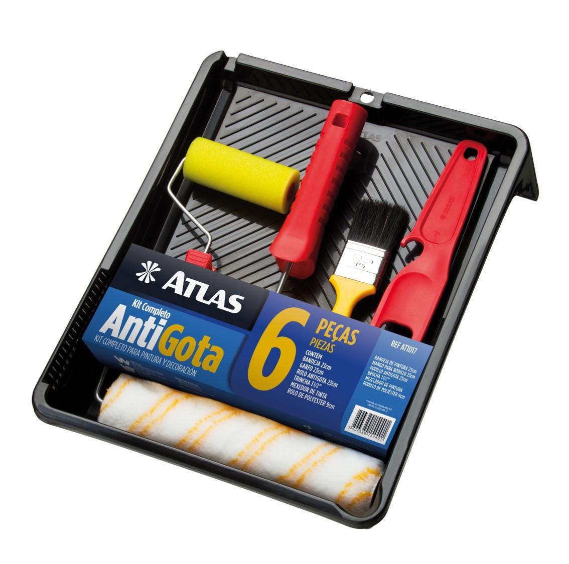Kit Antigota Completo Atlas 6 Peças AT1017.