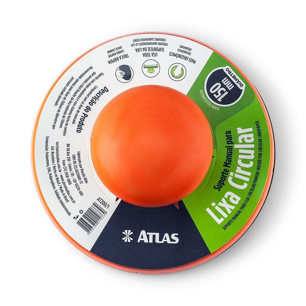 Lixador Manual P/ Disco Abrasivo 15 Cm Atlas AT200/1.