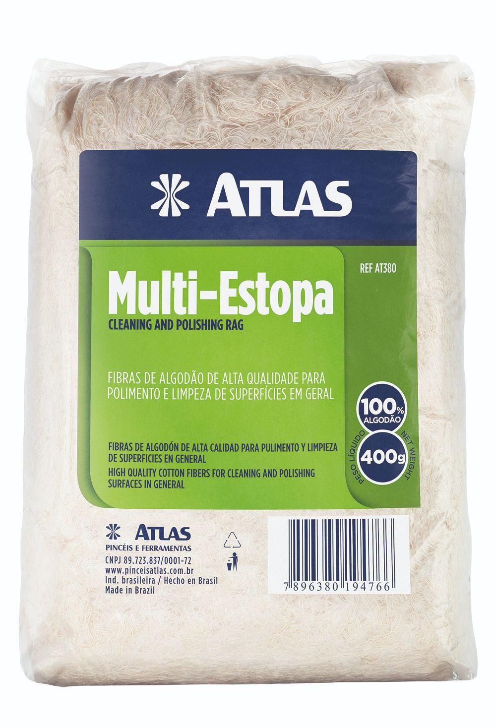Multi Estopa 400 Gr Atlas AT380.