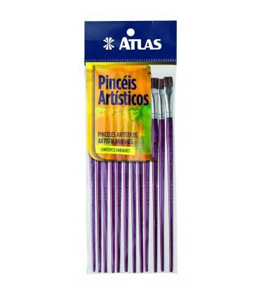 Pincel Achatado 18 Atlas 990/18.