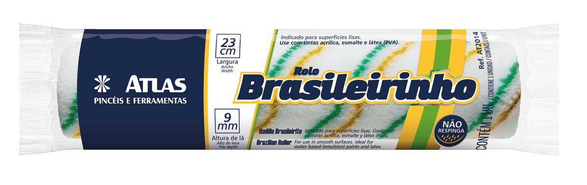 Rolo Lã Brasileirinho 23 Cm Atlas AT2014.