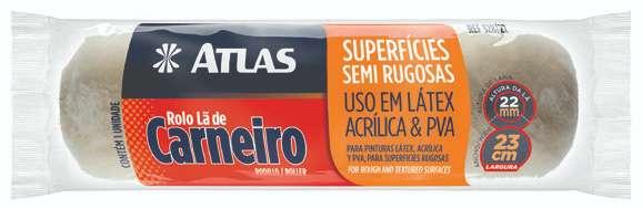 Rolo Lã de Carneiro 23 Cm Atlas 328/22.