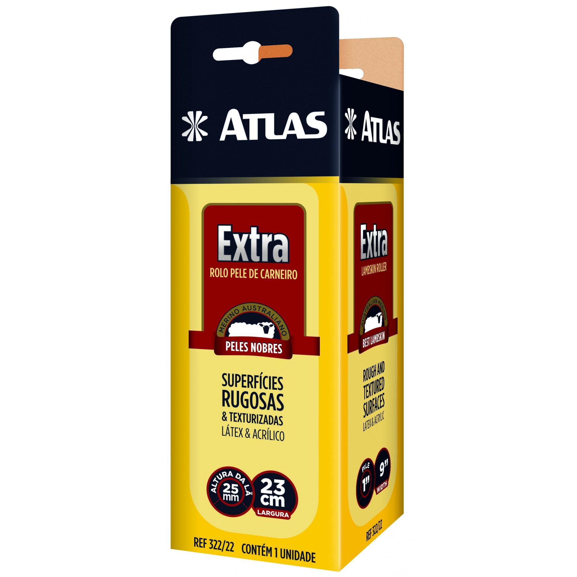 Rolo Lã Extra Atlas 322/22.