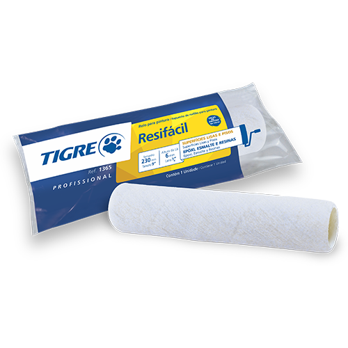Rolo Lã Sintética Resifacil 1365-230-Tigre