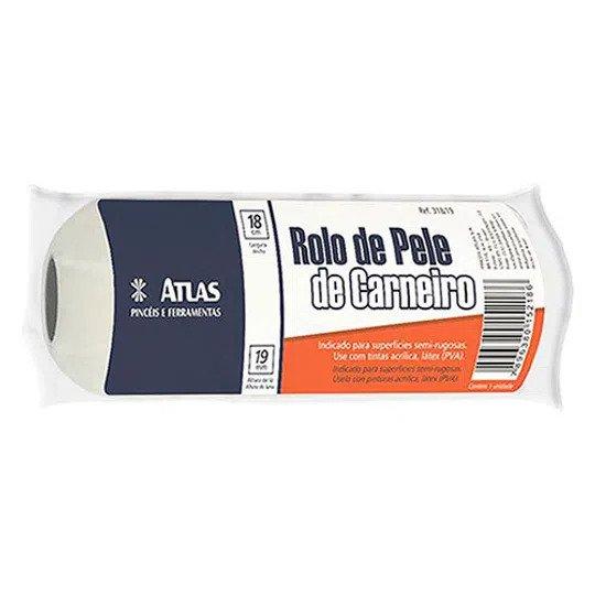 Rolo Pele de Carneiro 18 Cm Atlas 318/19.