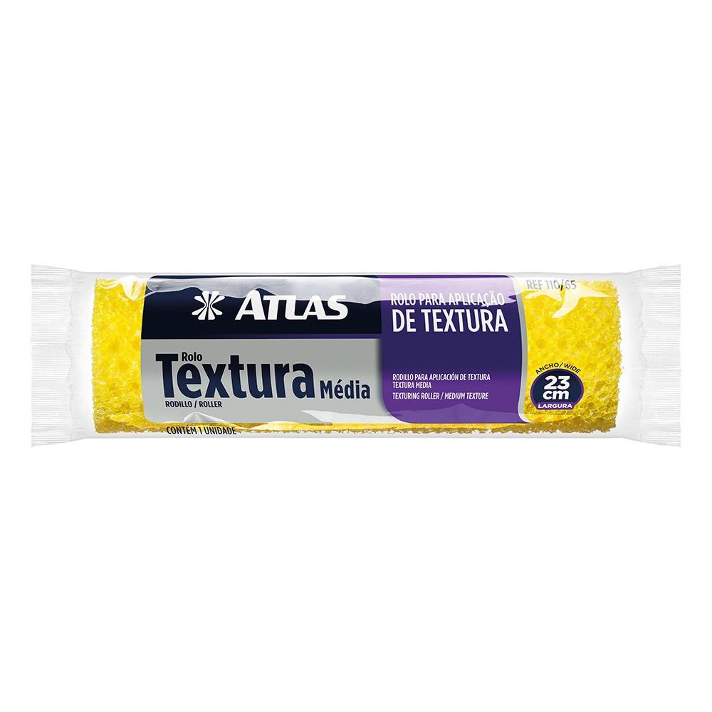 Rolo Textura Média 23 Cm Atlas 110/65.