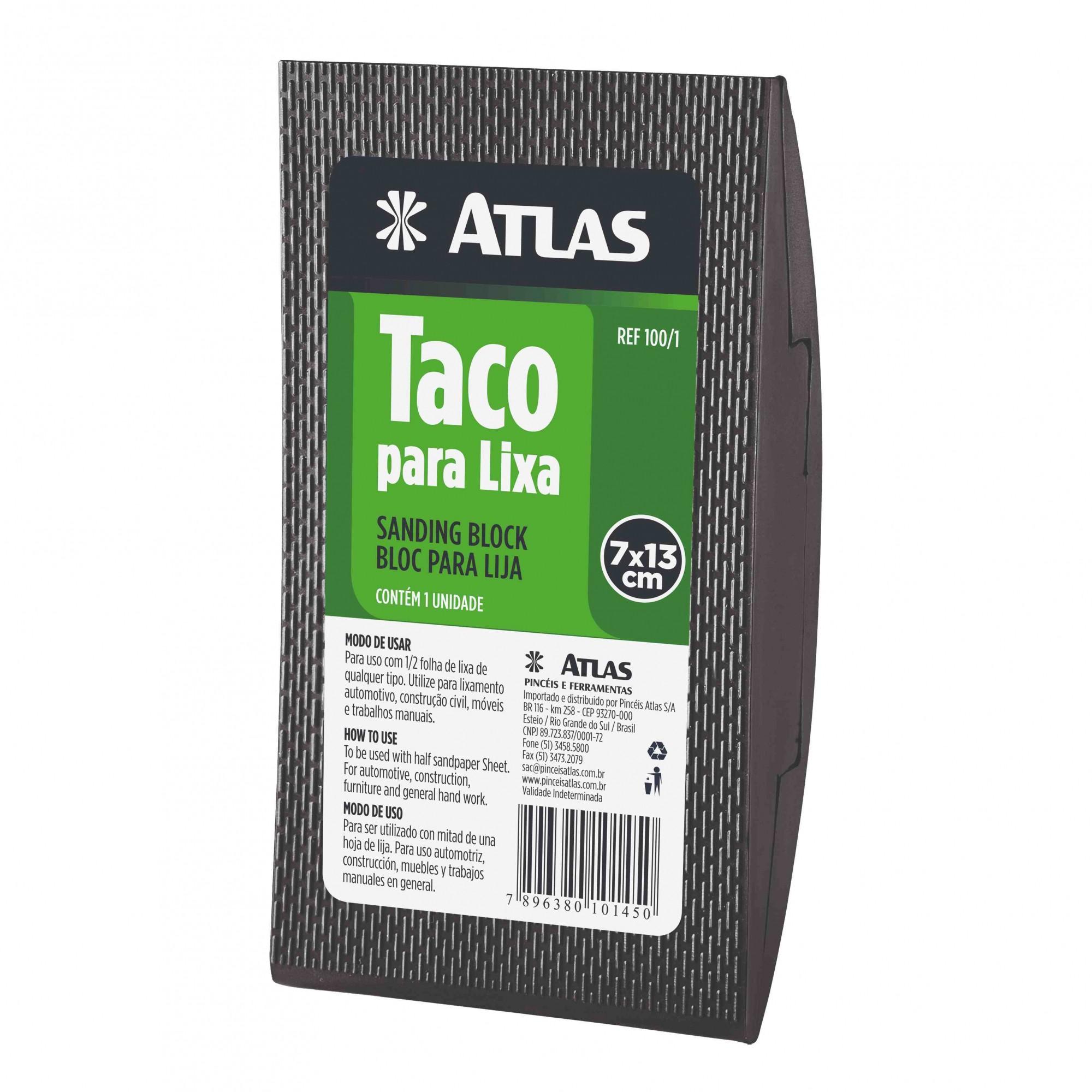 Taco P/ Lixa de Borracha Atlas 100/1.