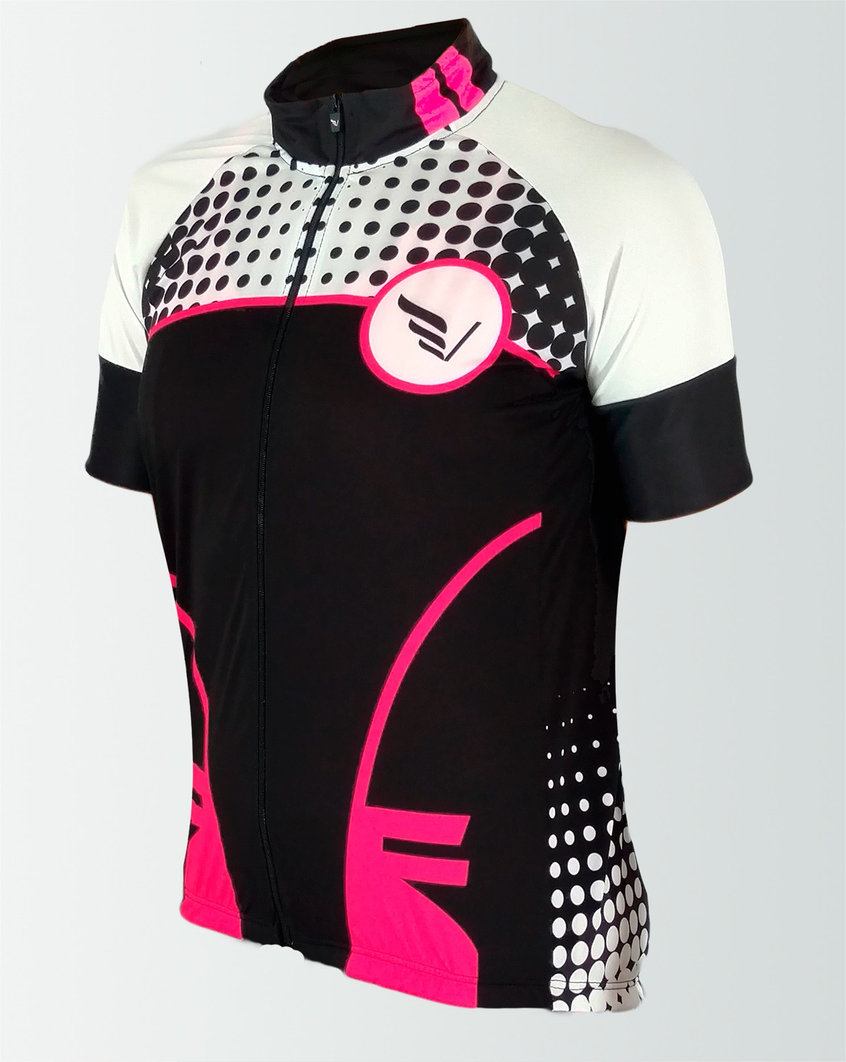 Baby Look Bike Manga Curta Adapt Villa Sports Do It Rosa