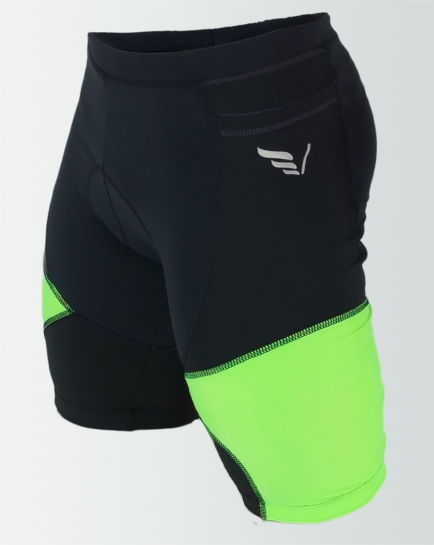 Bermuda Cycling Masculina Bryce Verde Flúor