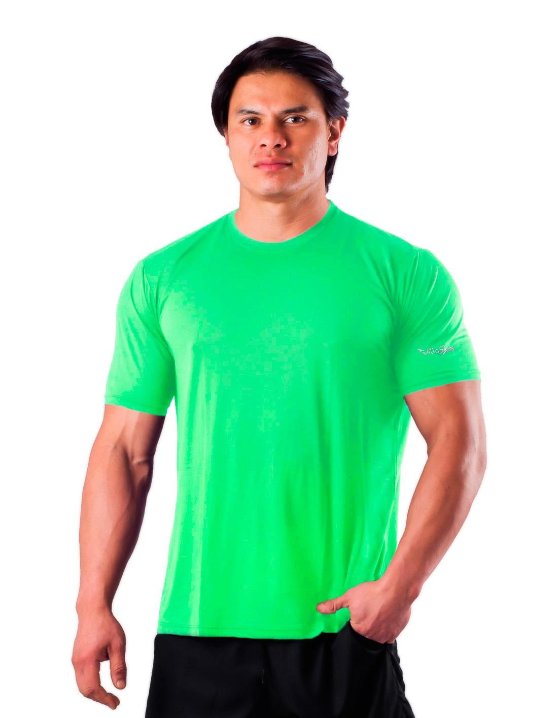 Camiseta Básica Dry Poliamida Villa Sports Menta
