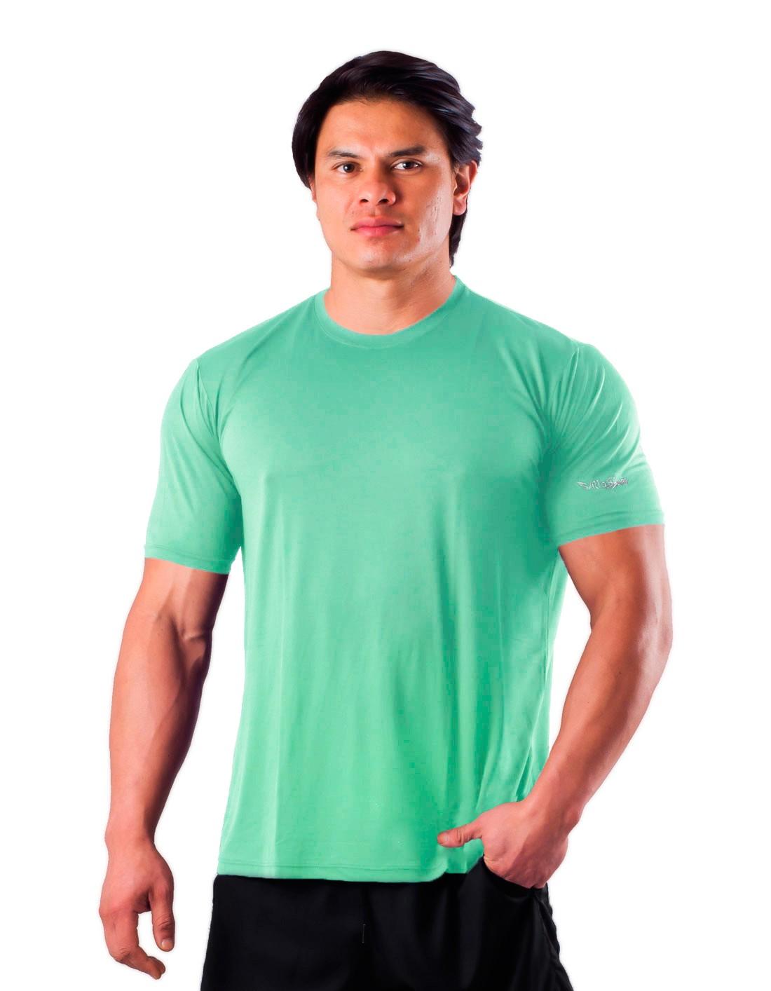 Camiseta Básica Dry Poliamida Villa Sports Verde Frais