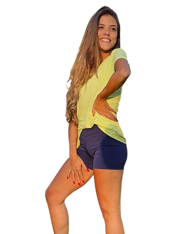Mini Shorts Básico Villa Sports MARINHO