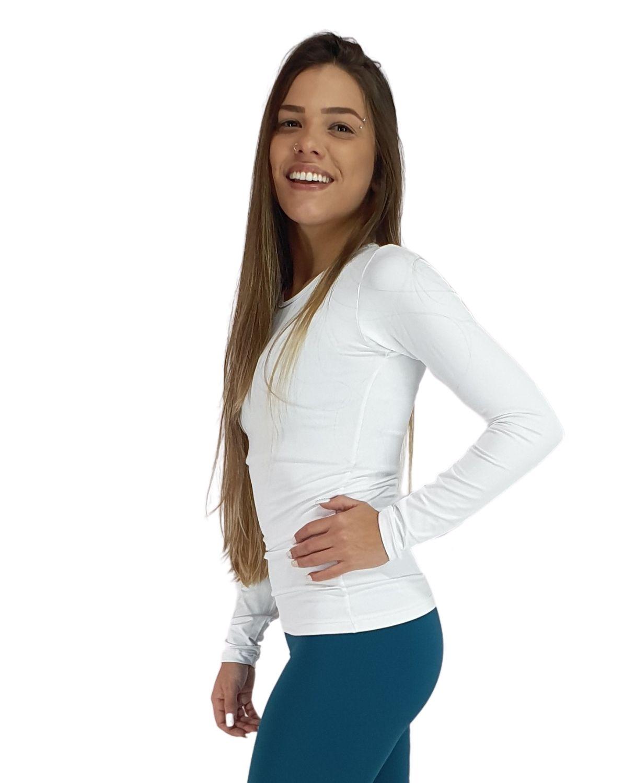 Segunda Pele Evolution Dry Villa Sports Feminina BRANCO