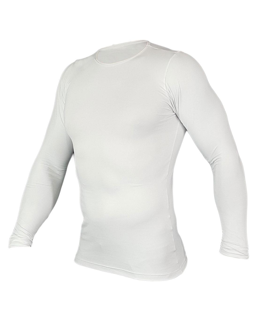 Segunda Pele Unissex Micro Poliamida Villa Sports Branco