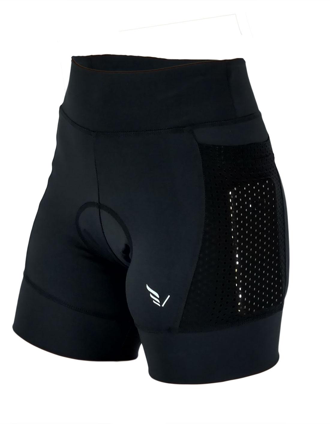 Shorts Cycling New Kenai Villa Sports PRETO