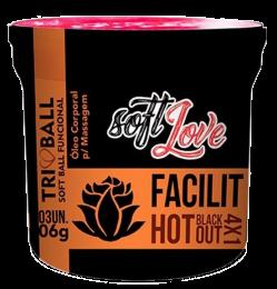 Bolinha Funcional Facilit 4x1 Anal Triball - Soft Love