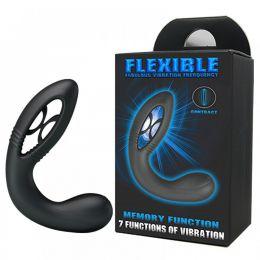 Estimulador de Próstata com Sistema de Contração e Expansão Maleável e 7 Modos de Vibração - Fabulous Contraction and Expansion