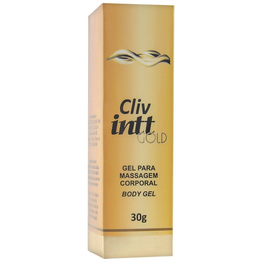 Cliv Intt Gold - Gel anestésico extra forte