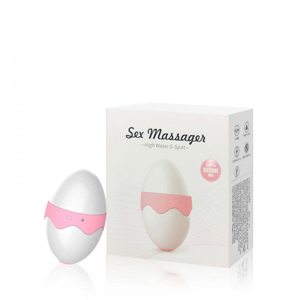 Estimulador Clitoriano Formato Ovo com 7 Modos de Vibração - Sex Massager
