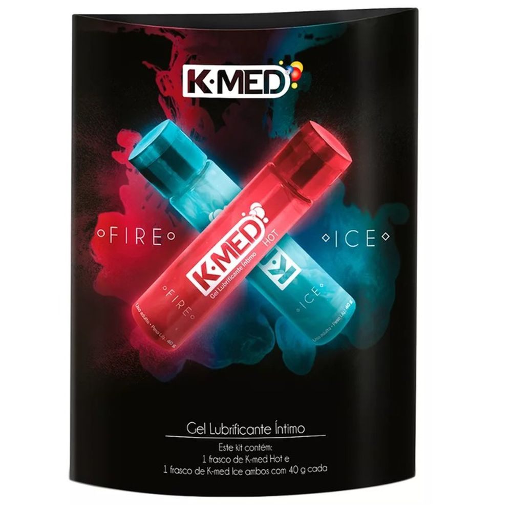 Lubrificante K-Med Fire and Ice 40g