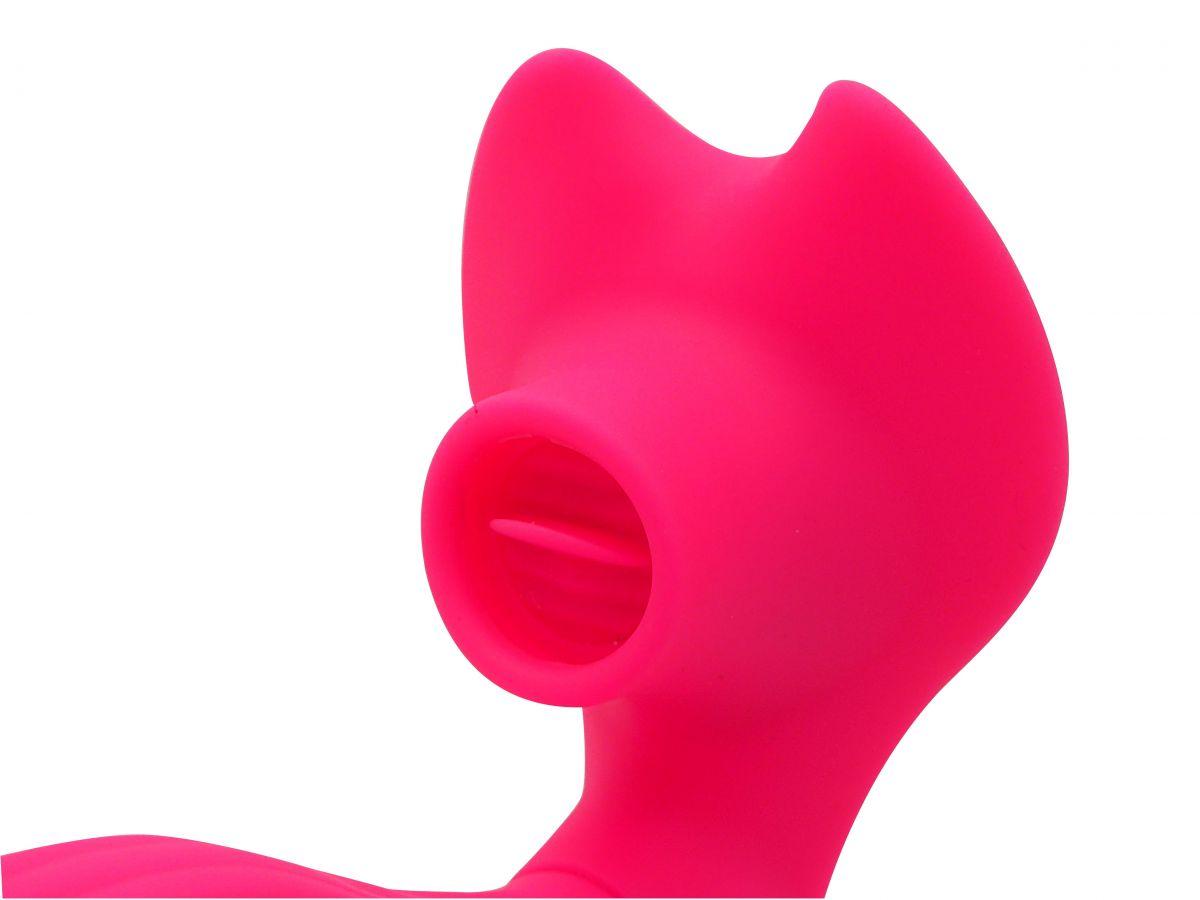 Vibrador e Simulador de Sexo Oral - Lips & Tongue AiLighter