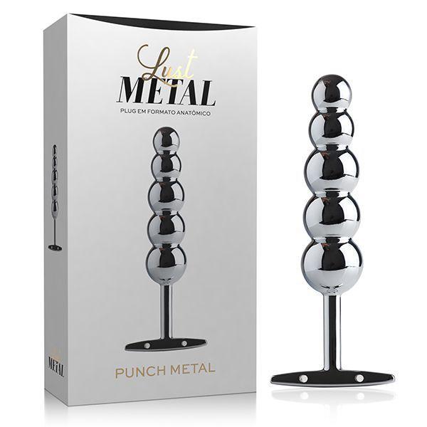 Plug Anal Lust Metal - Plug Punch Metal Silver