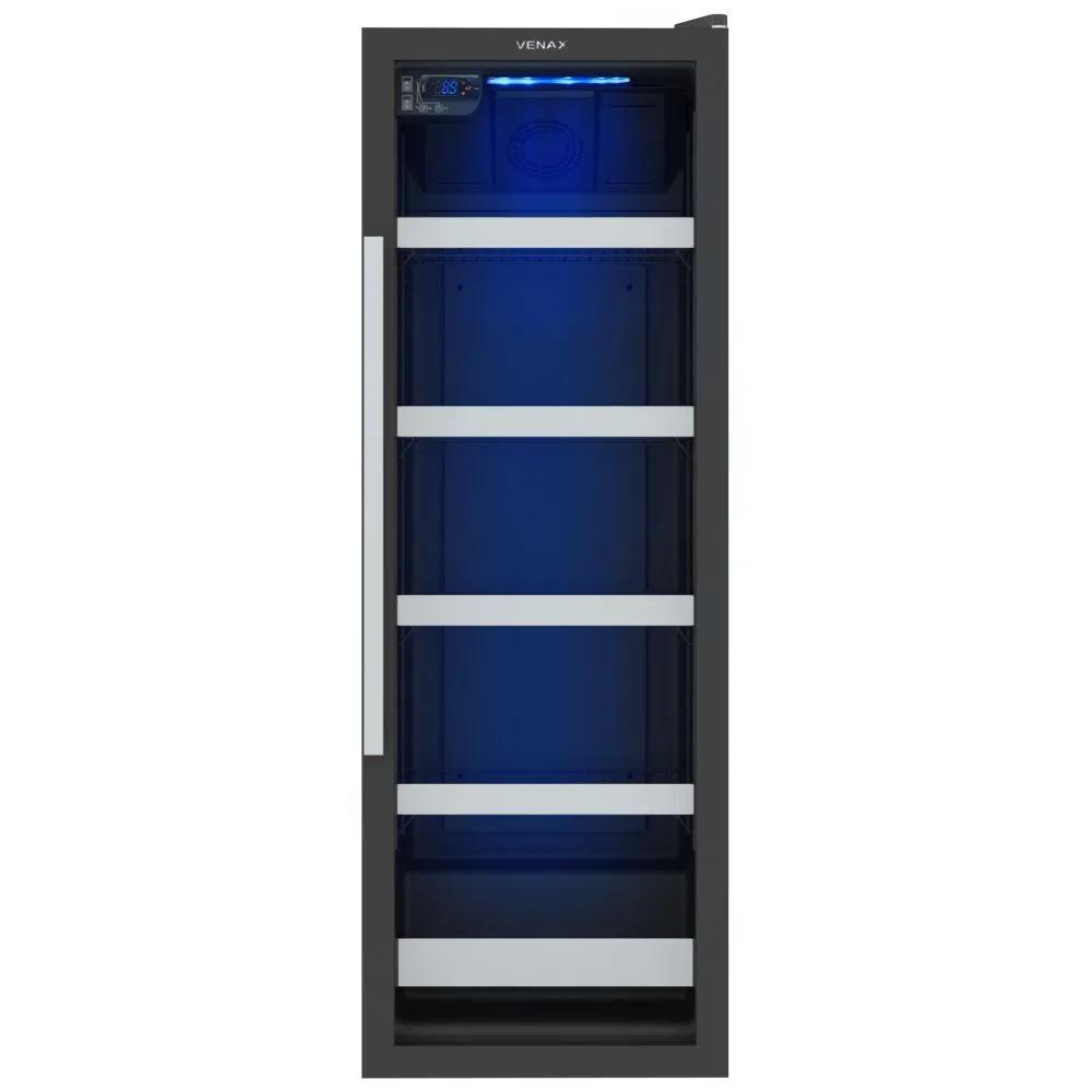 Cervejeira Blue Light 200 Preta Venax 220V