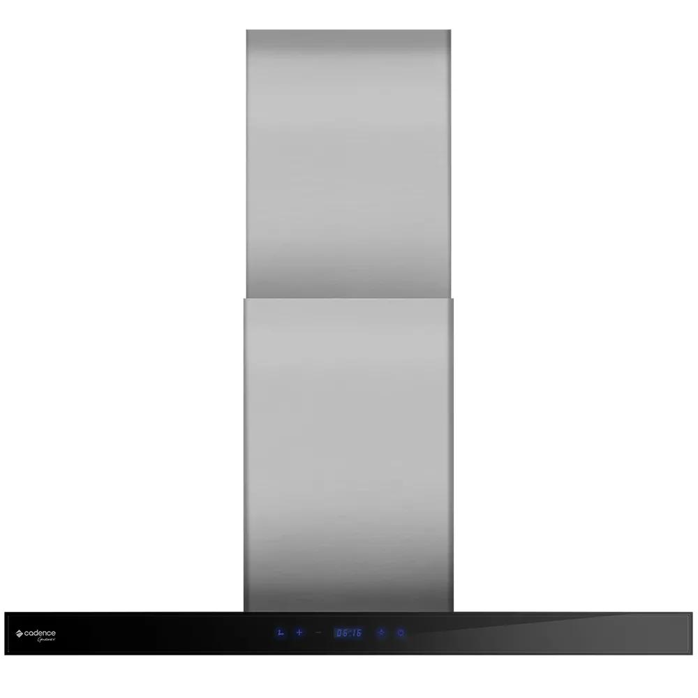 Coifa de parede inox Touch 90cm Cadence 220V
