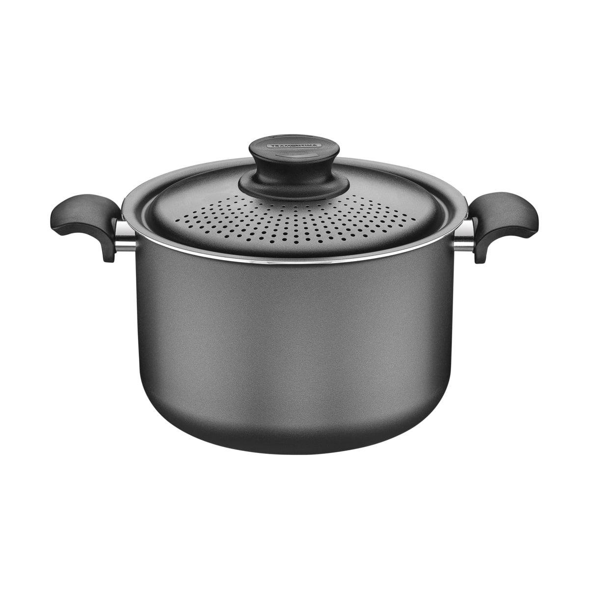 Espagueteira de alumínio com revestimento interno de antiaderente 24cm