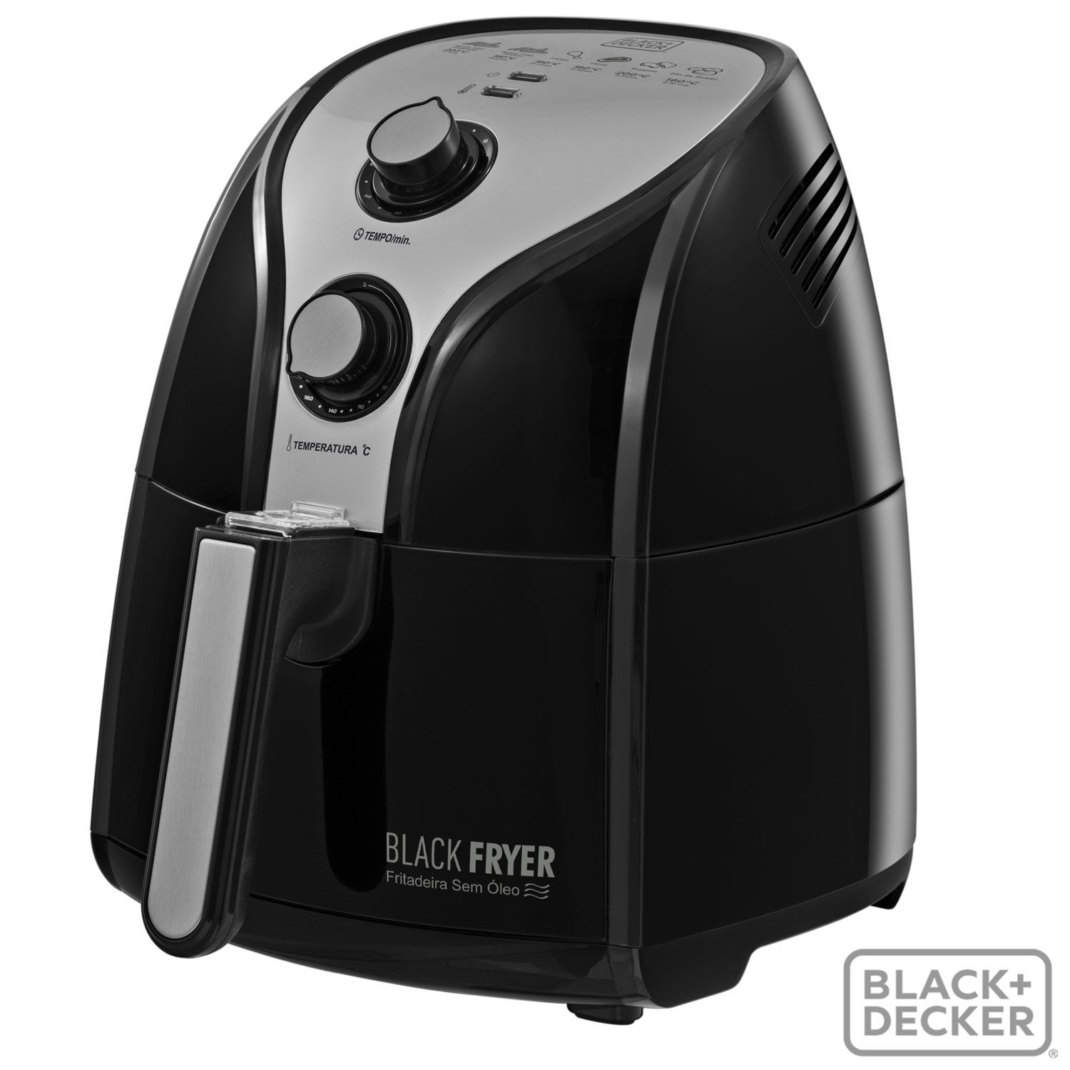 Fritadeira Sem Óleo Black and Decker 220V