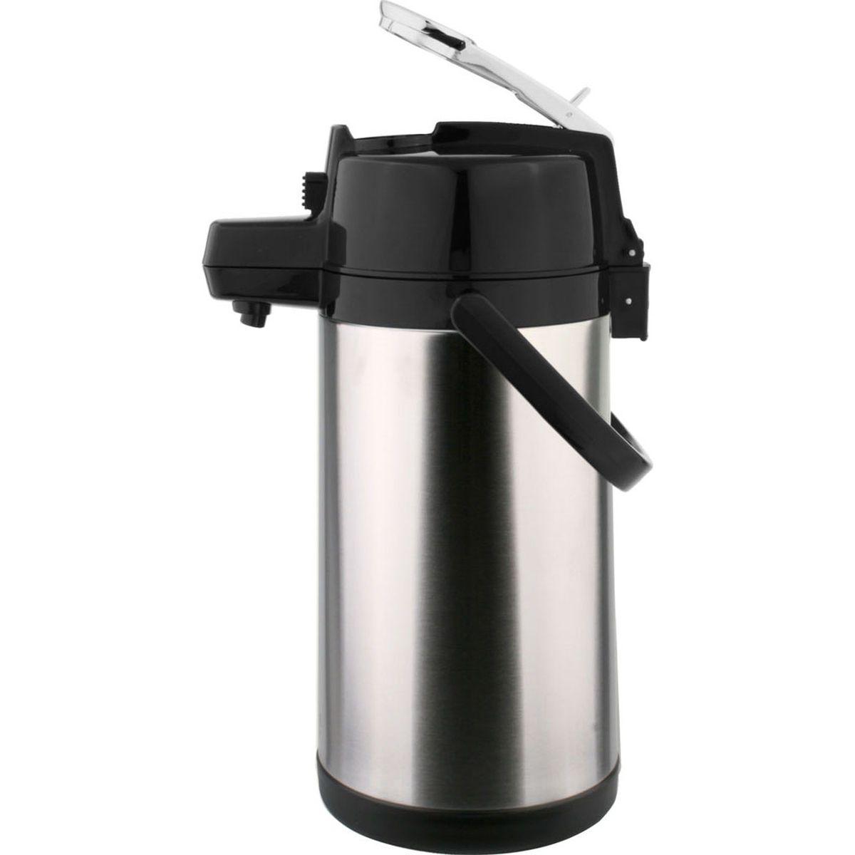 Garrafa Térmica de pressão em aço inox 2,5L