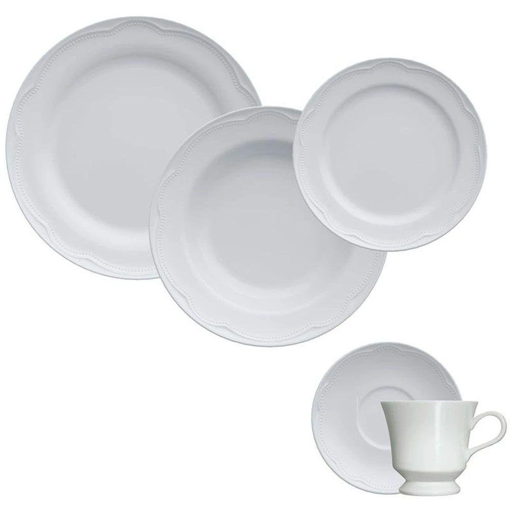 Jogo de Jantar e Chá 30 Peças Cottage Germer
