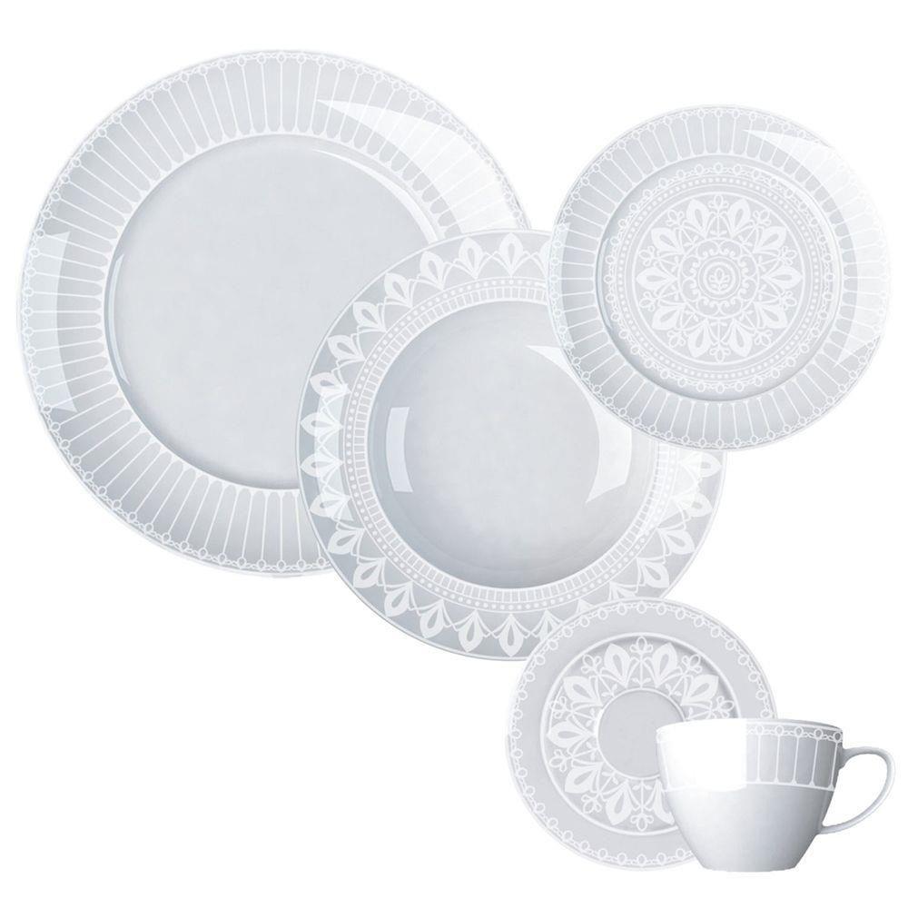Jogo de Jantar e Chá 30 Peças Palace Germer