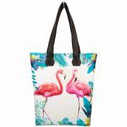 Bolsa Tropical Feminina Flamingos, Magicc