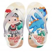 Chinelo Menino Bebê Sandália Cavaleiro Dragão Magicc Baby