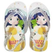 Chinelo Buzzy Sandália Infantil Pincess Bebê Meninas BZ029