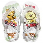 Chinelo Bebê Buzzy Sandália Infantil Skaters Meninos BZ008