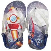 Chinelo Bebê Atacado Infantil 12 Pares Foguete Buzzy BZ014