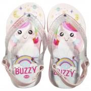 Chinelo Bebê Atacado Infantil 12 Pares Unicórnio Buzzy BZ030