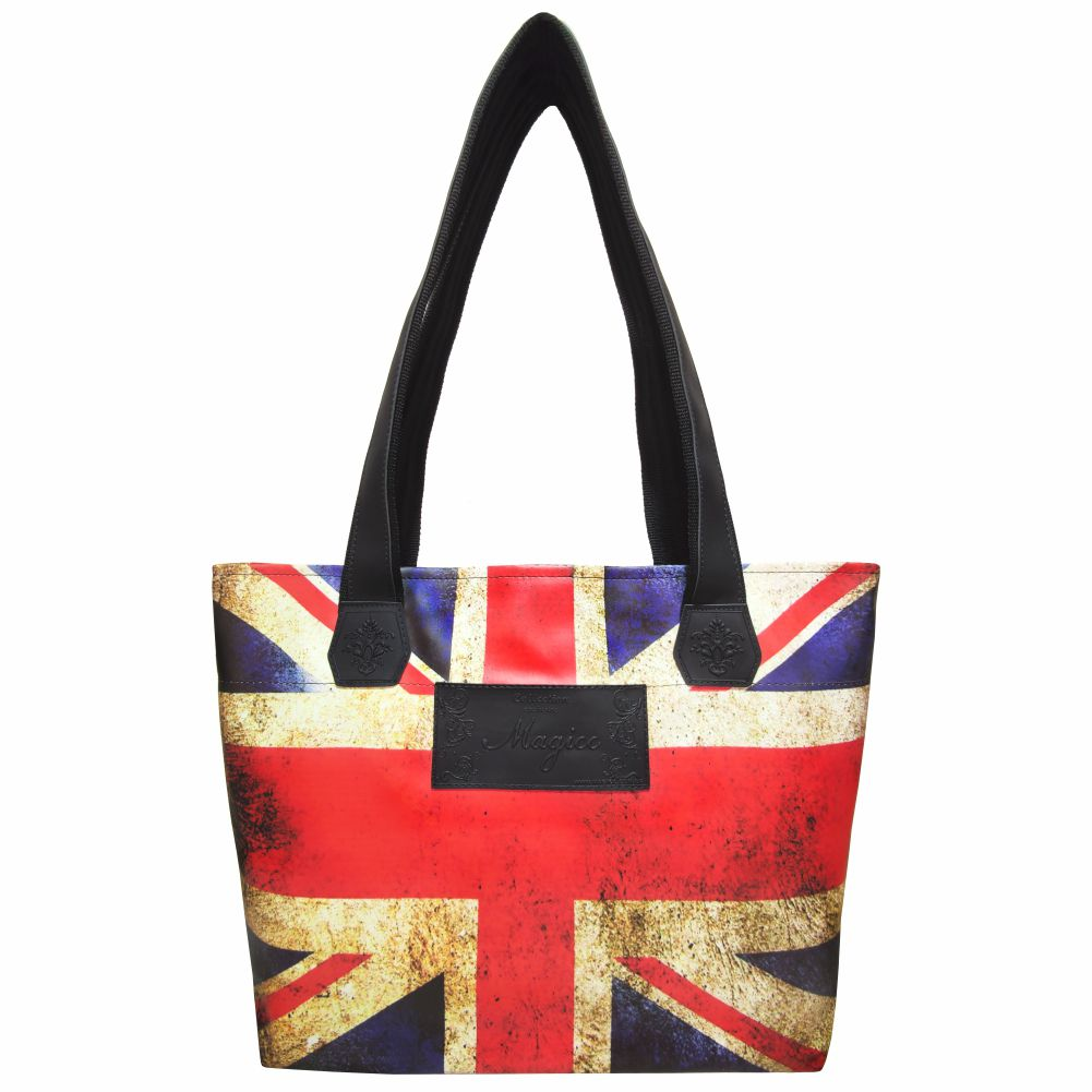 Bolsa Casual Feminina Bandeira do Reino Unido, Magicc