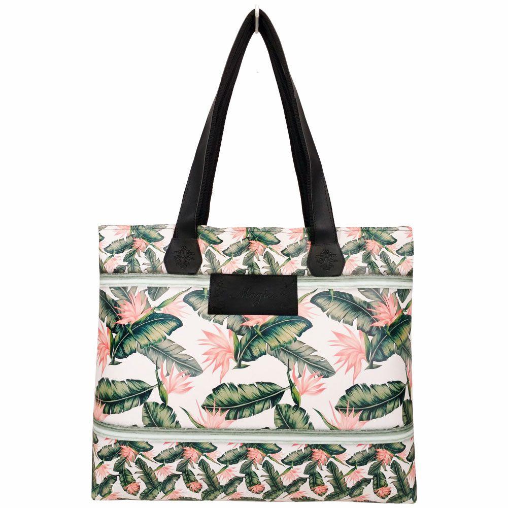 Bolsa Tropical Feminina Folhas, Magicc