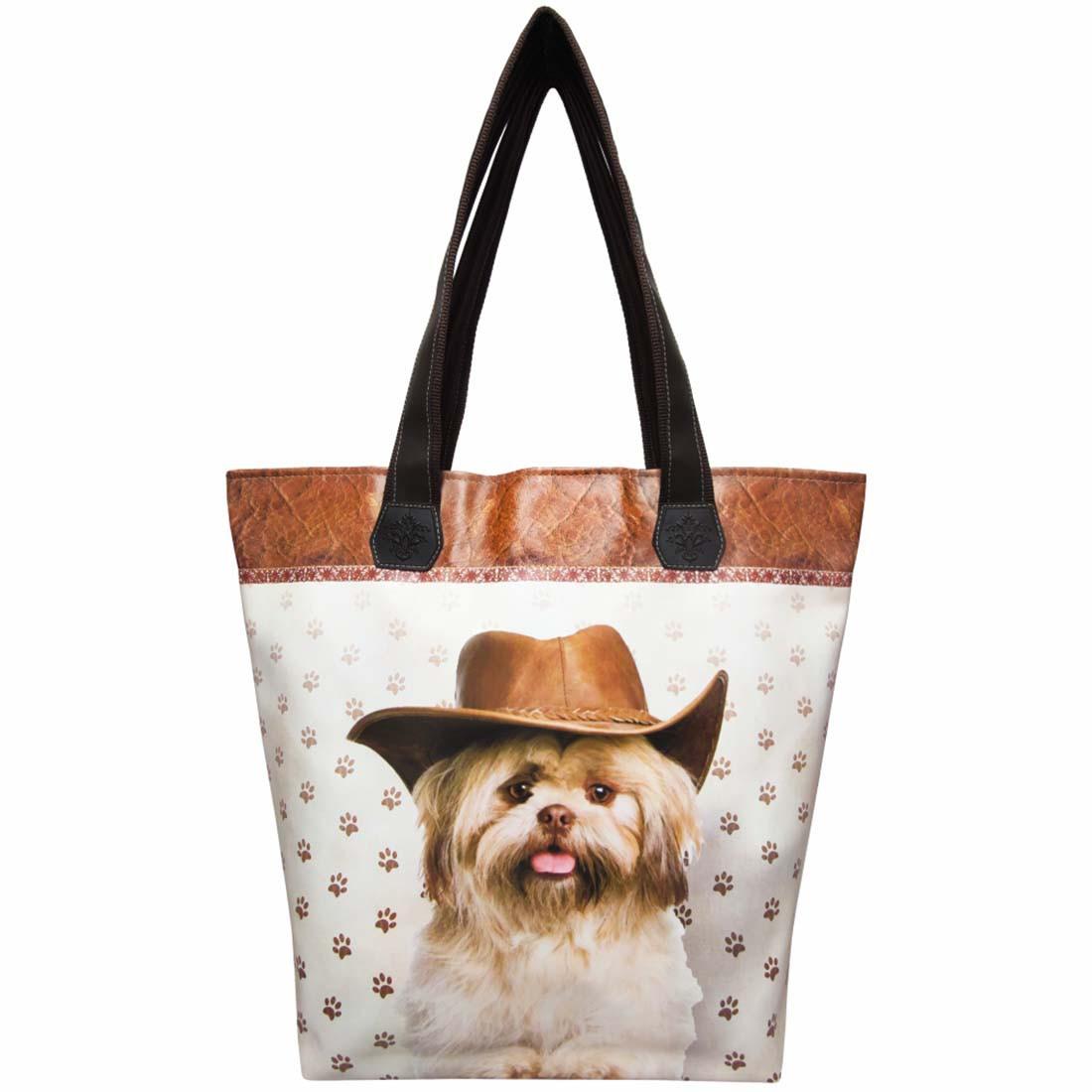 Bolsa Feminina Pet Cachorro com Chapéu, Magicc