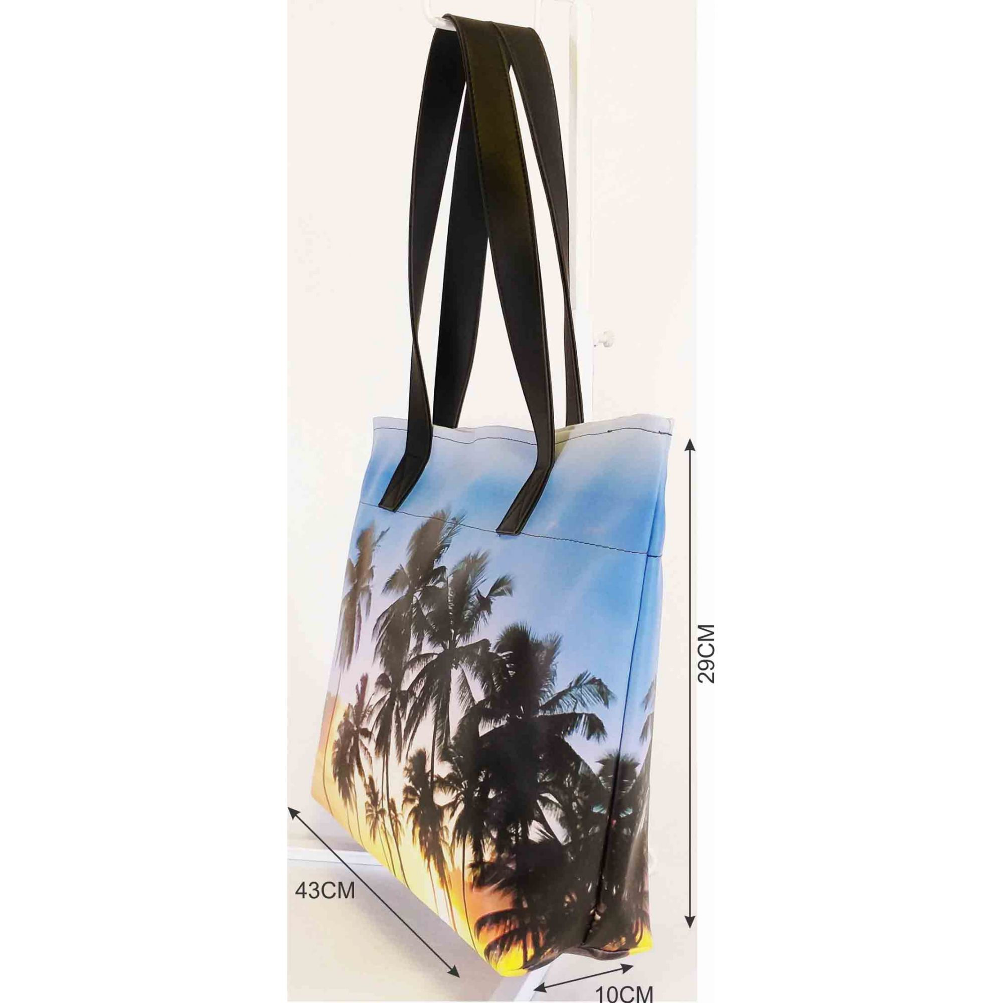 Bolsa Praia Feminina Coqueiros, Magicc Bolsas