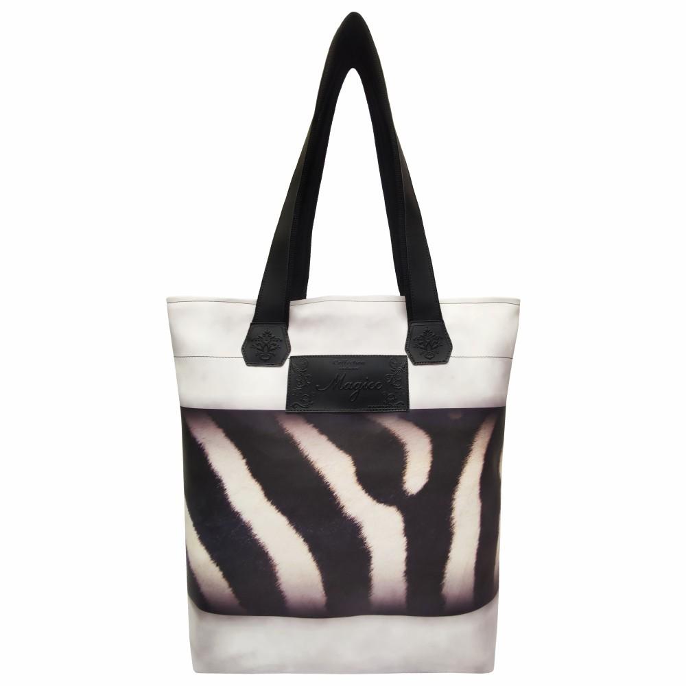 Bolsa Selva Feminina Zebra, Magicc