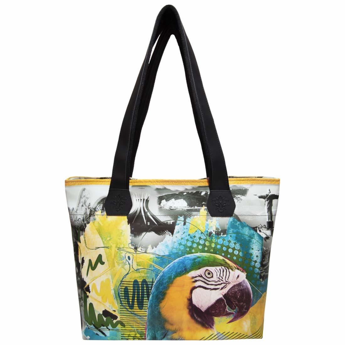 Bolsa Feminina Tropical Arara, Magicc