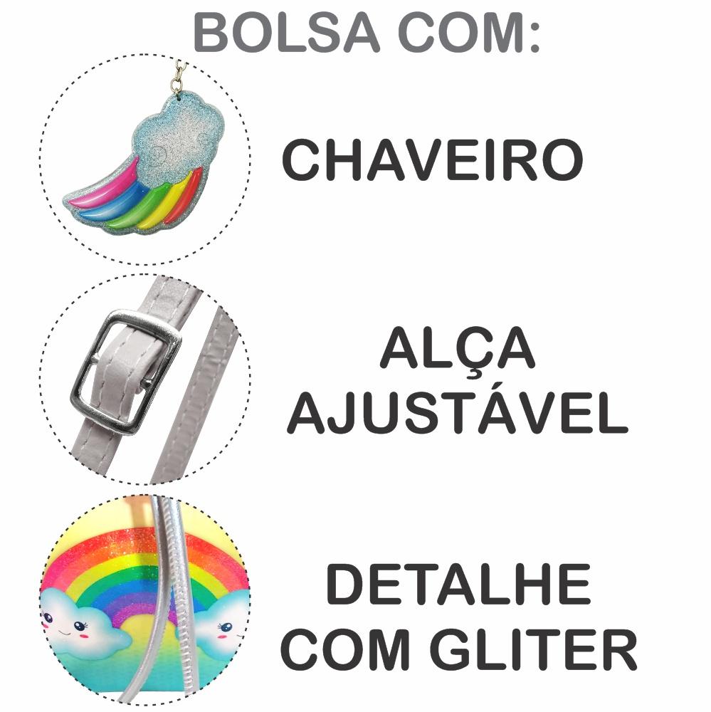 Bolsa Infantil Arco-Íris, Magicc