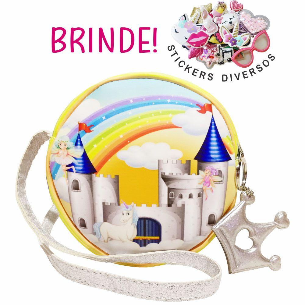 Bolsa Infantil Castelo da Princesa, Magicc