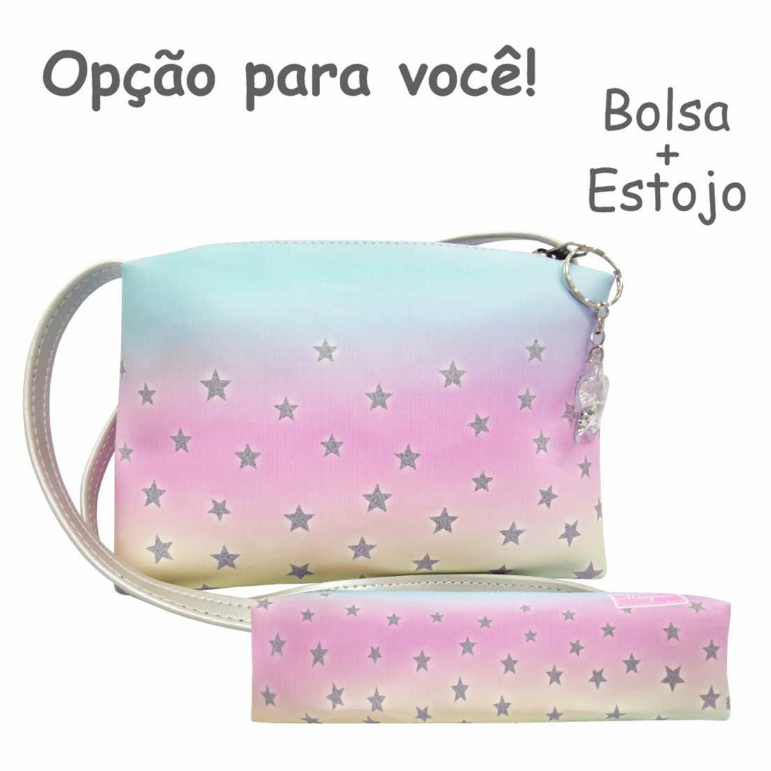 Bolsa Infantil Degradê Estrelas, Magicc